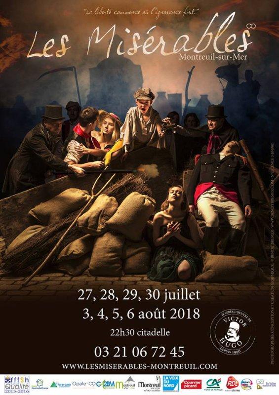 Les Misérables, à Montreuil-sur-Mer, version 2018