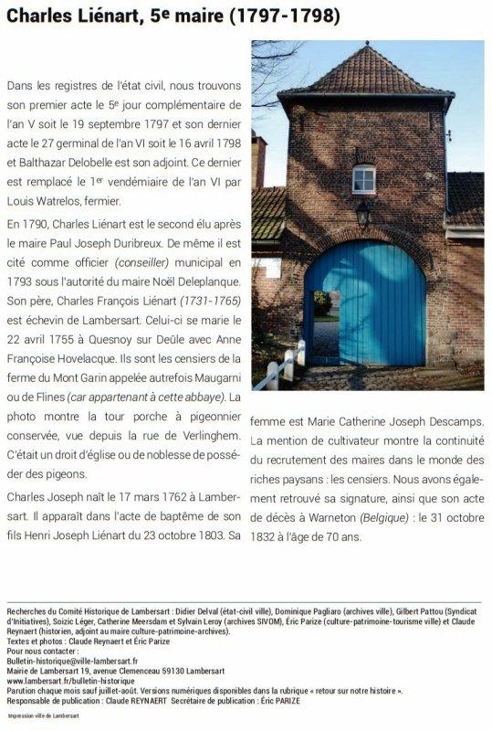 Bulletin historique de Lambersart n° 8