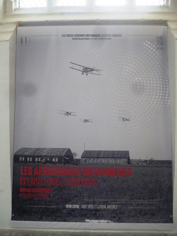 La Royal Air Force dans l'Audomarois pendant la Première Guerre Mondiale