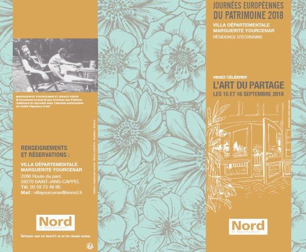 Les Journées européennes du Patrimoine à la villa Marguerite Yourcenar au Mont Noir