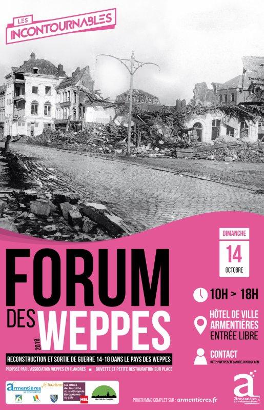 L'affiche officielle du Forum des Weppes 2018