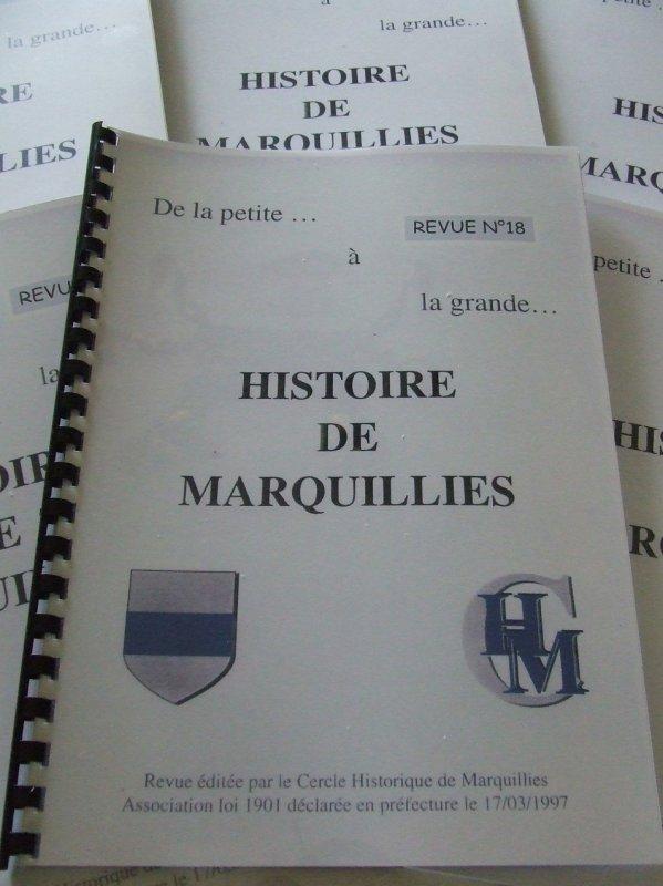 Le numéro 18 de la revue du Cercle historique de Marquillies sera en vente à partir de dimanche