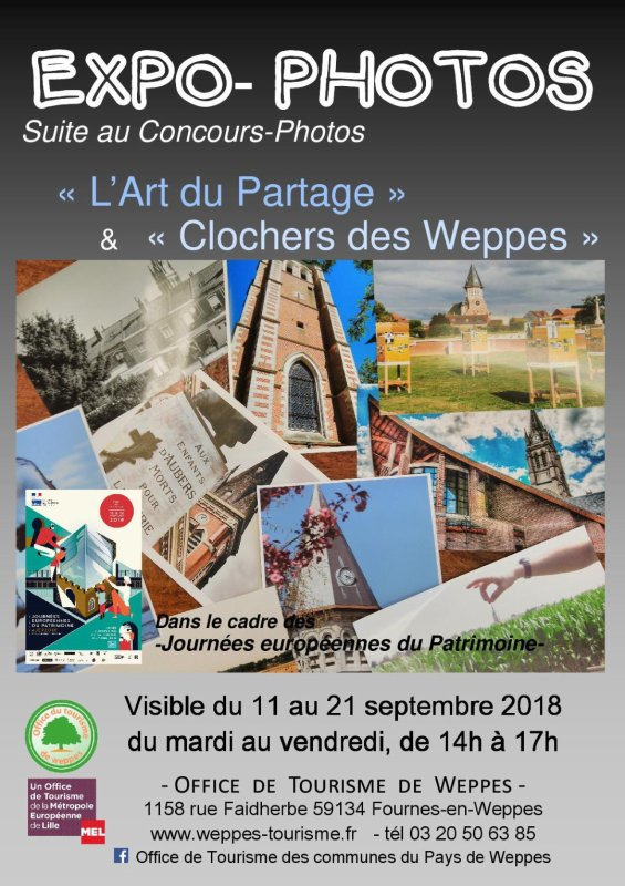 L'expo photos de l'Office de Tourisme du Pays de Weppes