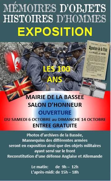 """""""Il y a cent ans"""" : La Bassée se souvient."""