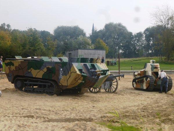 Le week-end dernier, c'était l'ultime offensive de la Grande Guerre à Armentières.