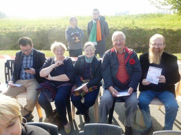 Cérémonie du Pilly : Weppes en Flandre et ses amis étaient présents