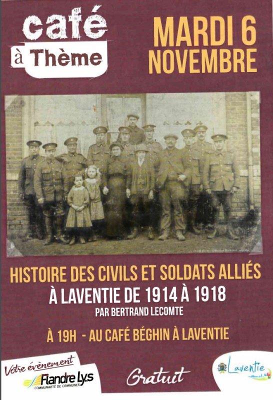 1918-2018 : le centenaire de la Première Guerre mondiale dans le Pays de l'Alloeu