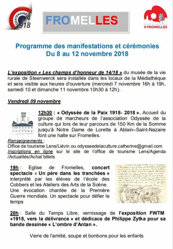 1918-2018 : le pays de Weppes commémore le centenaire de la Première Guerre mondiale