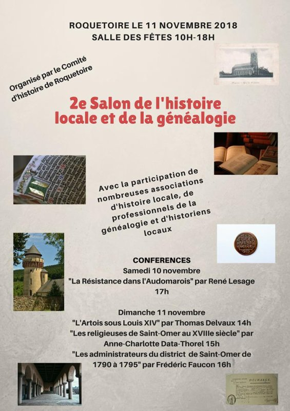 Ce dimanche 11 novembre, Weppes en Flandre sera présent au salon de Roquetoire (Pas-de-Calais)