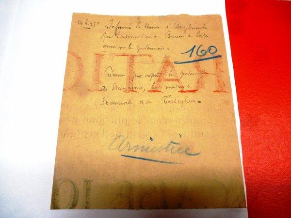 11 novembre 1918, la guerre est finie