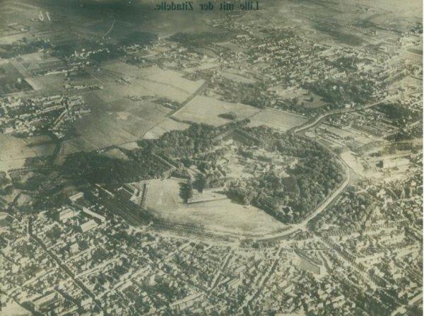 Archéologie aérienne de la Grande Guerre dans la région du Nord