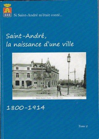 L'histoire de Saint-André, elle est disponible au syndicat d'initiative !