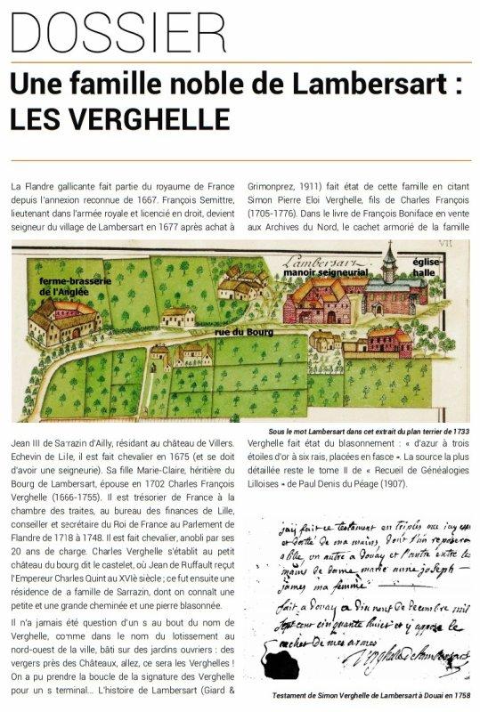 Le Bulletin historique de Lambersart n° 14