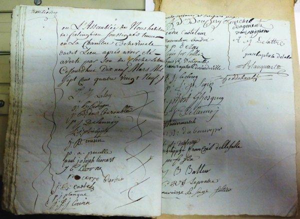 Mars 1789 : la paroisse de Frelinghien, dans le pays de Weppes, rédige son cahier de doléances