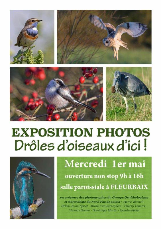 Le 1er mai, Fleurbaix expose notre patrimoine ornithologique