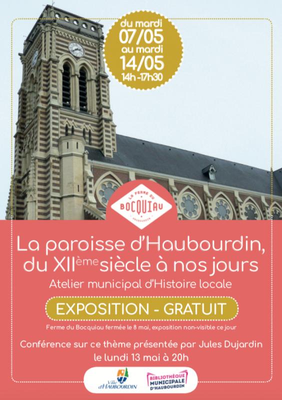 L'histoire de la paroisse d'Haubourdin racontée par Jules Dujardin (à la ferme du Bocquiau)