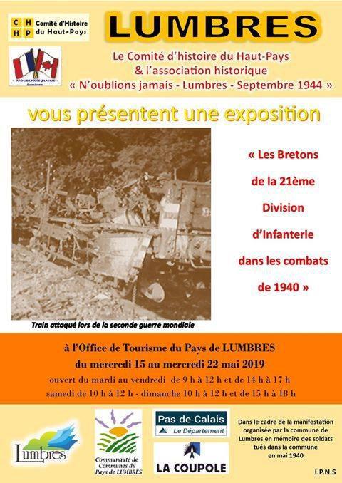 En 1940, des Bretons ont combattu dans le Nord