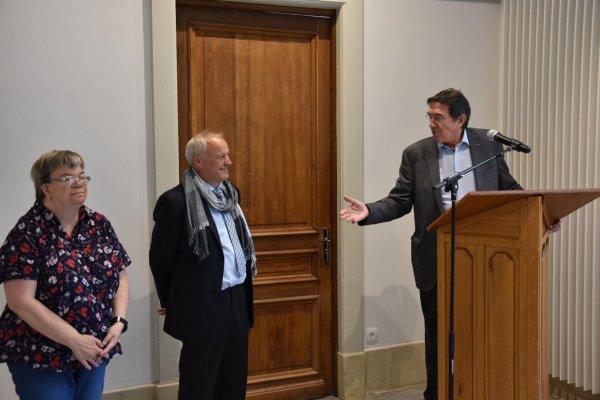 Inauguration de l'exposition de Nieppe consacrée à l'archéologie