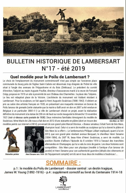 Le Bulletin historique de Lambersart n° 17