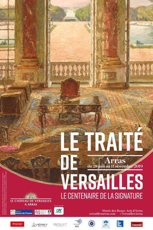 Le traité de Versailles va s'exposer au musée d'Arras