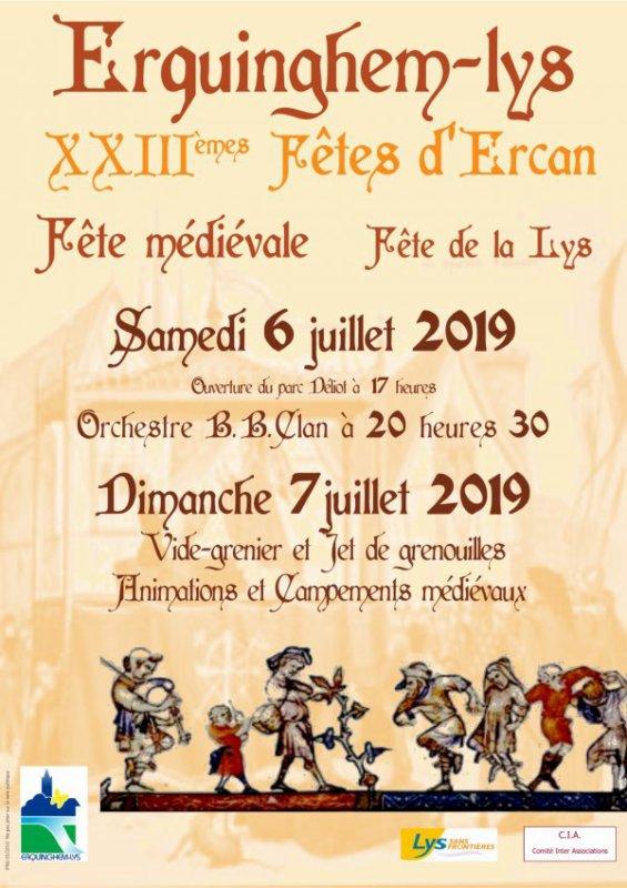 Ce week-end, ce sont les fêtes d'Ercan à Erquinghem-Lys