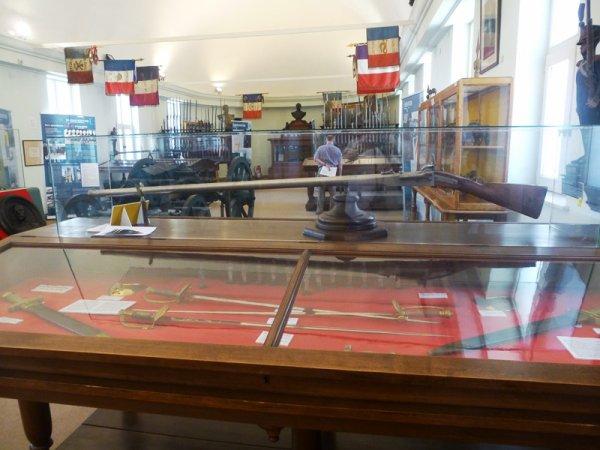 Une petite visite du musée des canonniers sédentaires de Lille