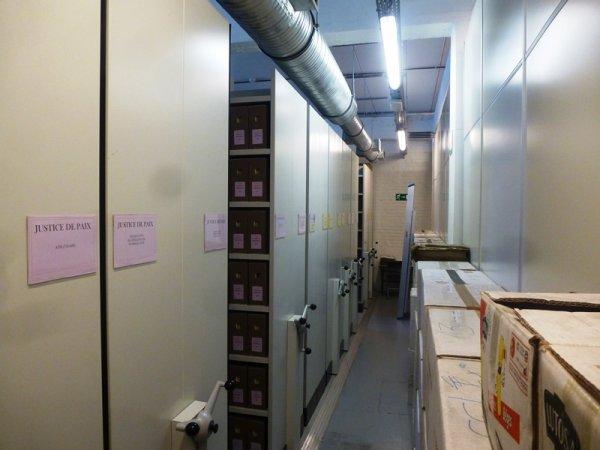 Les Archives de l'Etat à Tournai en Belgique