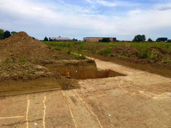 Le chantier de fouille d'Illies : juillet 2019 (reportage et photos Chantal Dhennin)