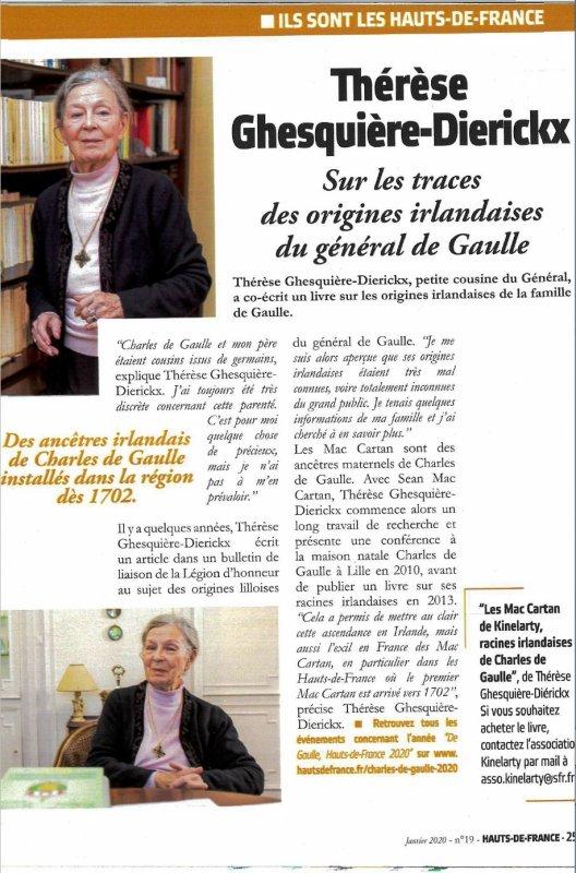Les ancêtres irlandais du général de Gaulle