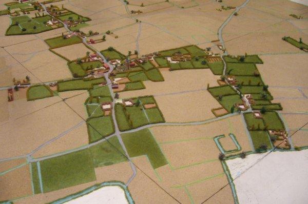 Santes, un petit village du pays de Weppes, pris dans la tourmente de l'histoire à la fin du Moyen Âge