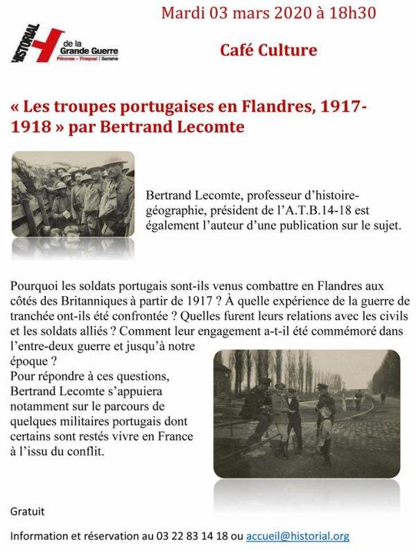 Les troupes portugaises en Flandres, 1917-1918