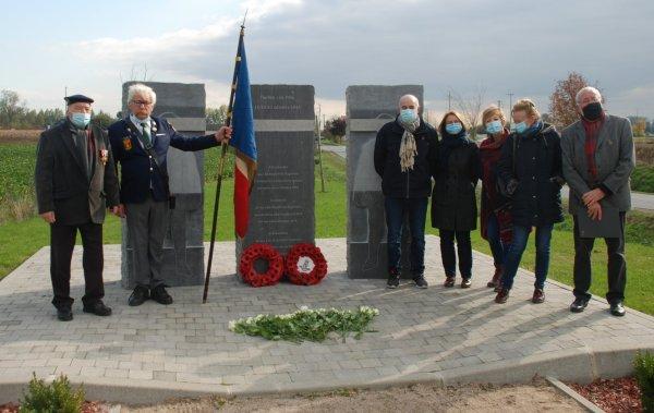 La commémoration de la bataille du Pilly à Herlies (reportage Dominique Bascour)