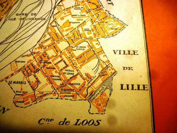 Quand les trains circulaient dans les rues du Marais de Lomme