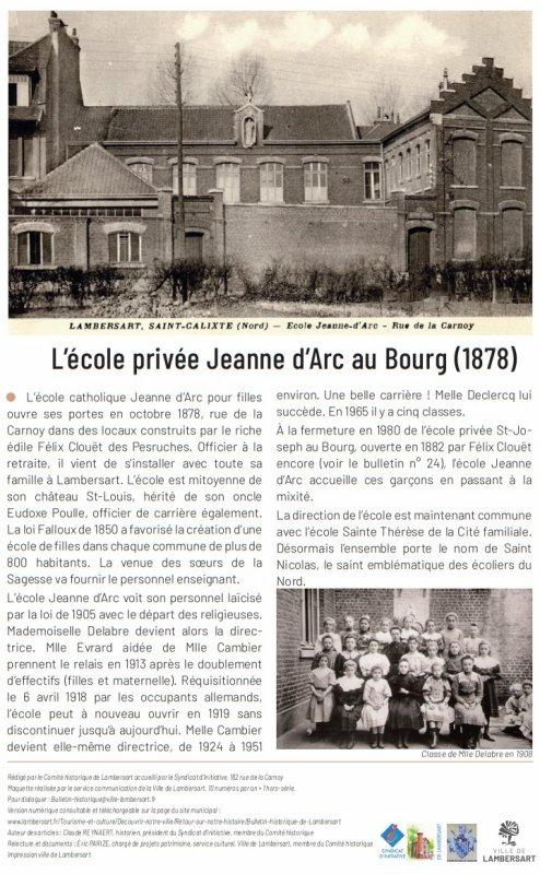 Bulletin historique de Lambersart n° 25