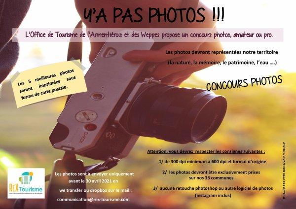 L'office de tourisme de l'Armentiérois et des Weppes vous propose un concours photos