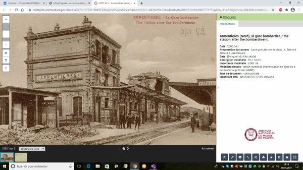 Armentières aux Archives du Monde du Travail à Roubaix