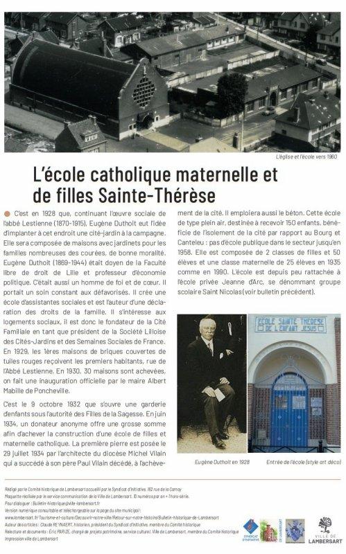 Le Bulletin historique de Lambersart n° 26