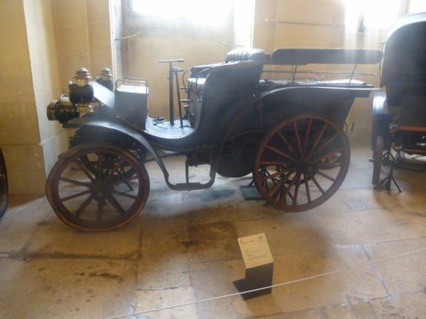 Le musée de la voiture au château de Compiègne