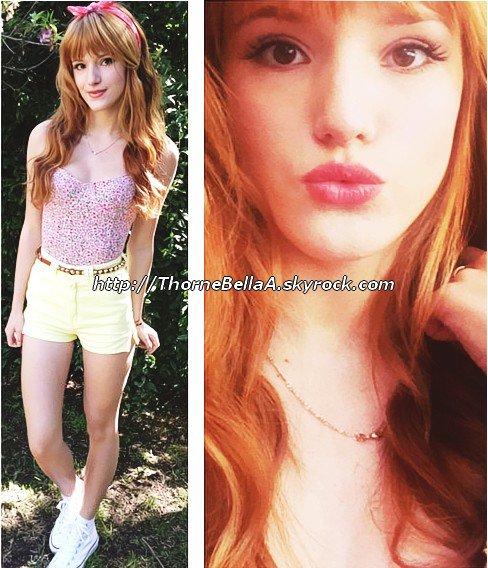 Bella Thorne .