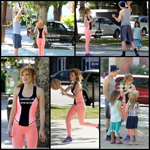 Bella et Tristan au Color me Mine de Los Angeles le 6 avril 2013!