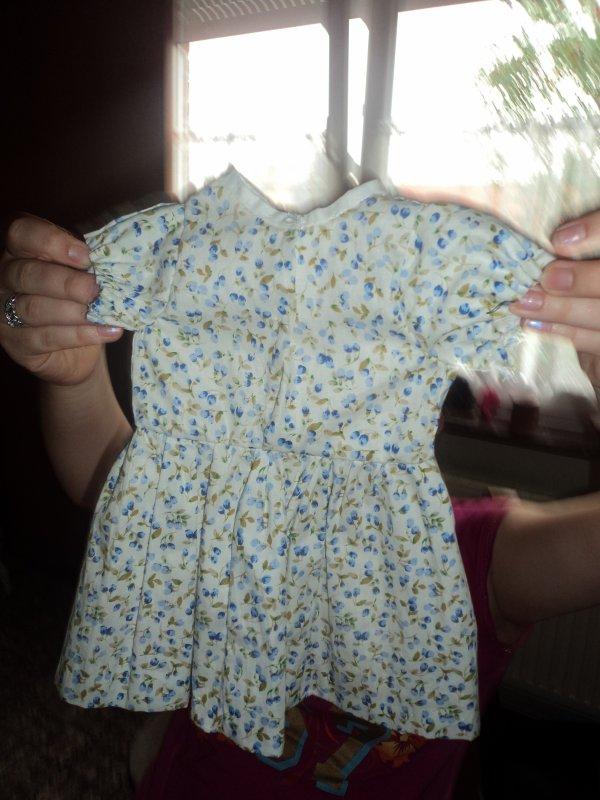 Ma première petite robe