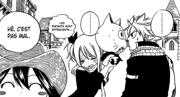 Fairy Tail - Nalu KISS (Chapitre spécial - My reaction)