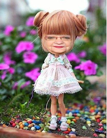 jolie poupée la mémère