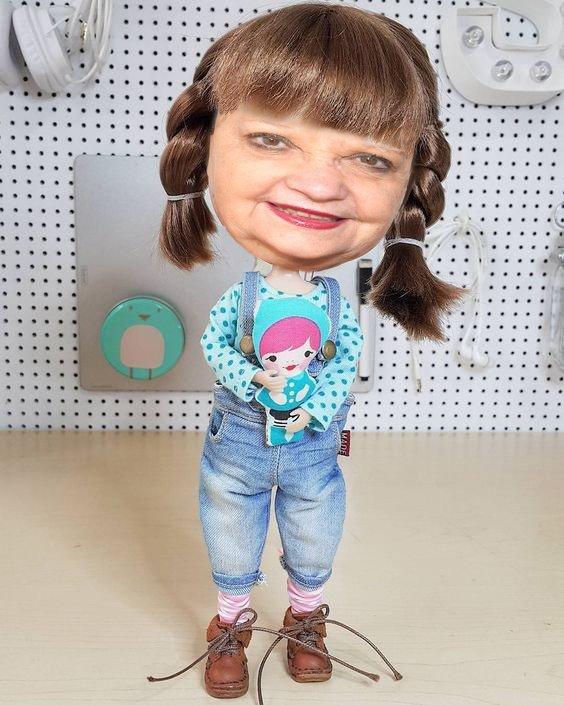 ho ho la belle poupée que voila