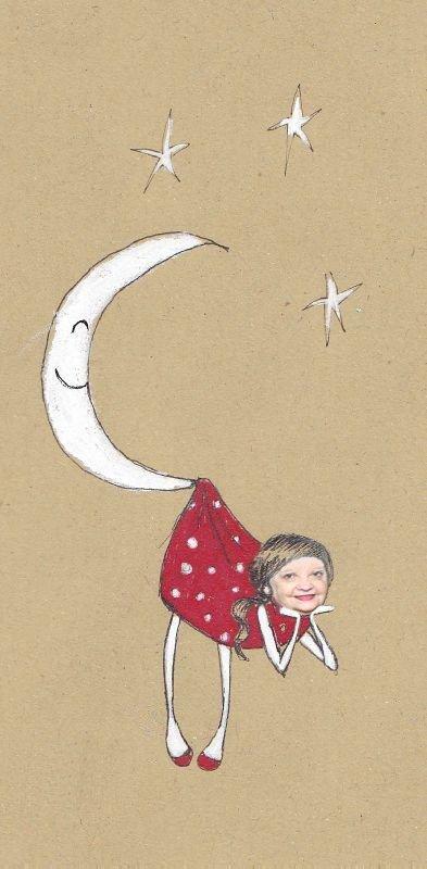 au secours, pépère je suis dans la lune viens m'aider je va tomber