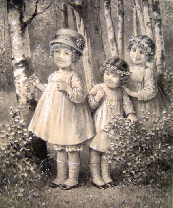 les trois filles de la famille groin groin