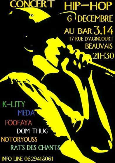concert hip hop 6 decembre