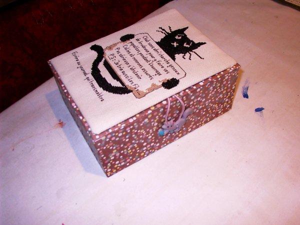 boite en carton