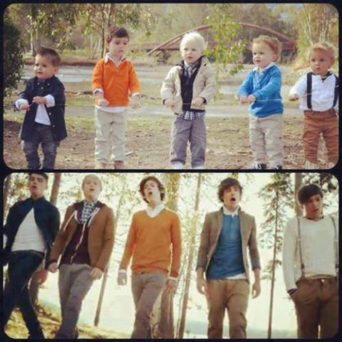 Baby One Direction :D