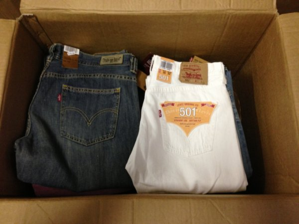 destockage jeans levis